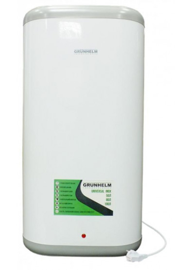 Электрический водонагреватель (бойлер) Grunhelm GBH I-100VH Flat на 100 л