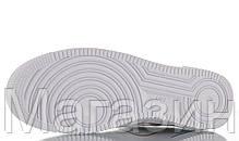 Женские кроссовки Nike Air Force 1 Low Script Swoosh White Найк Аир Форс низкие кожаные белые, фото 2