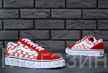 Женские кеды Vans Old Skool Supreme Ванс Олд Скул Суприм черные, фото 2