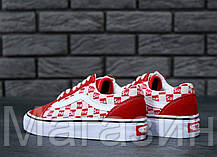 Женские кеды Vans Old Skool Supreme Ванс Олд Скул Суприм черные, фото 3