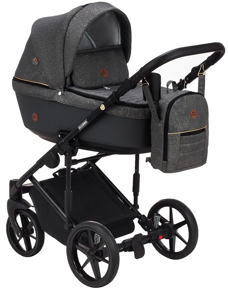 Детская универсальная коляска 2 в 1 Adamex Amelia Lux AM284