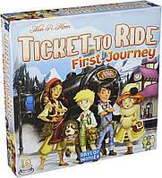 """Настольная игра """"Билет на поезд. Джуниор. Европа"""" Ticket to Ride First Jorney, фото 1"""