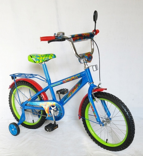 "Велосипед дитячий двоколісний 20"" 152018 Super Bike, СинеЖолтый. pro"