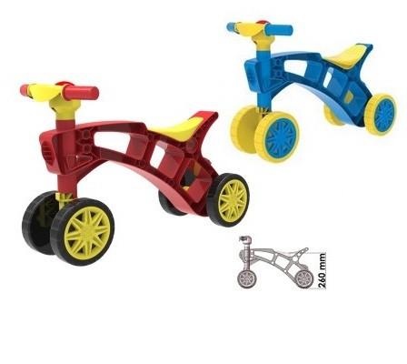 Ролоцикл (червоний, синій) Технок толокар мотоцикл. pro
