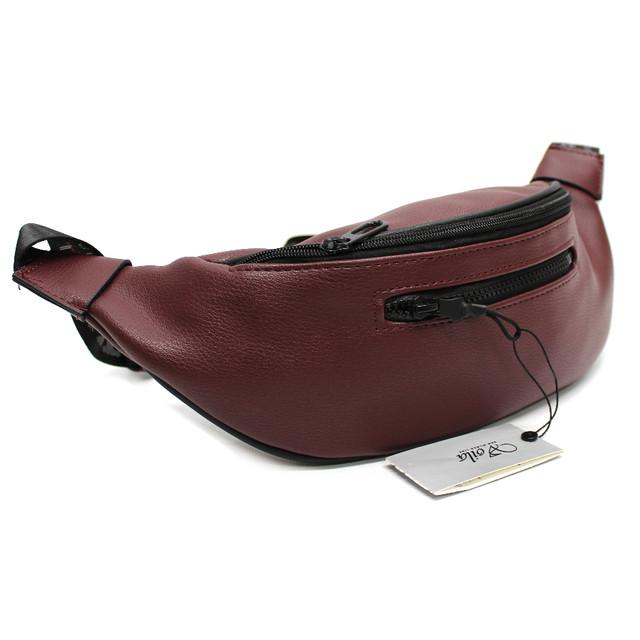 Качественная сумка-бананка из кожзаменителя Aoila YR 2506