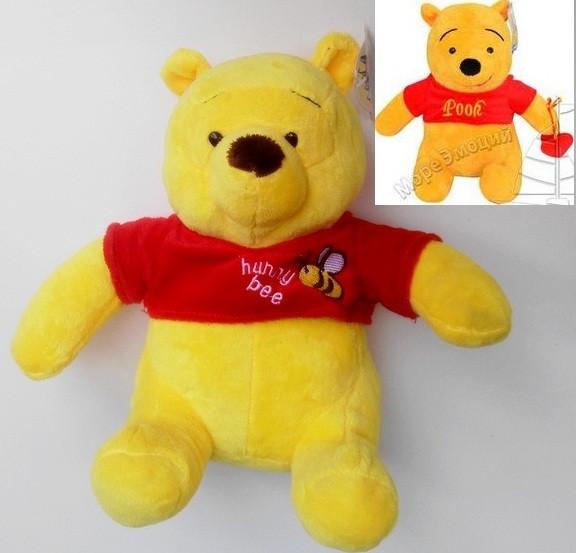 Мягкая игрушка Мишка Винни Пух 24 см медведь, ведмедик. pro