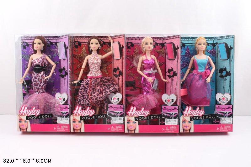 Кукла типа Барби 001 на шарнирах короб.. pro