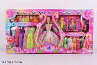 Кукла типа Барби 2258Е Гардероб платья. pro