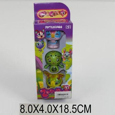 Бакуган Zoobles 3в1 коробка. pro