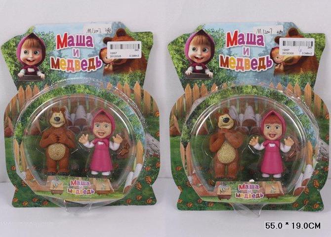 Кукла фигурки Маша и Медведь 12007. pro