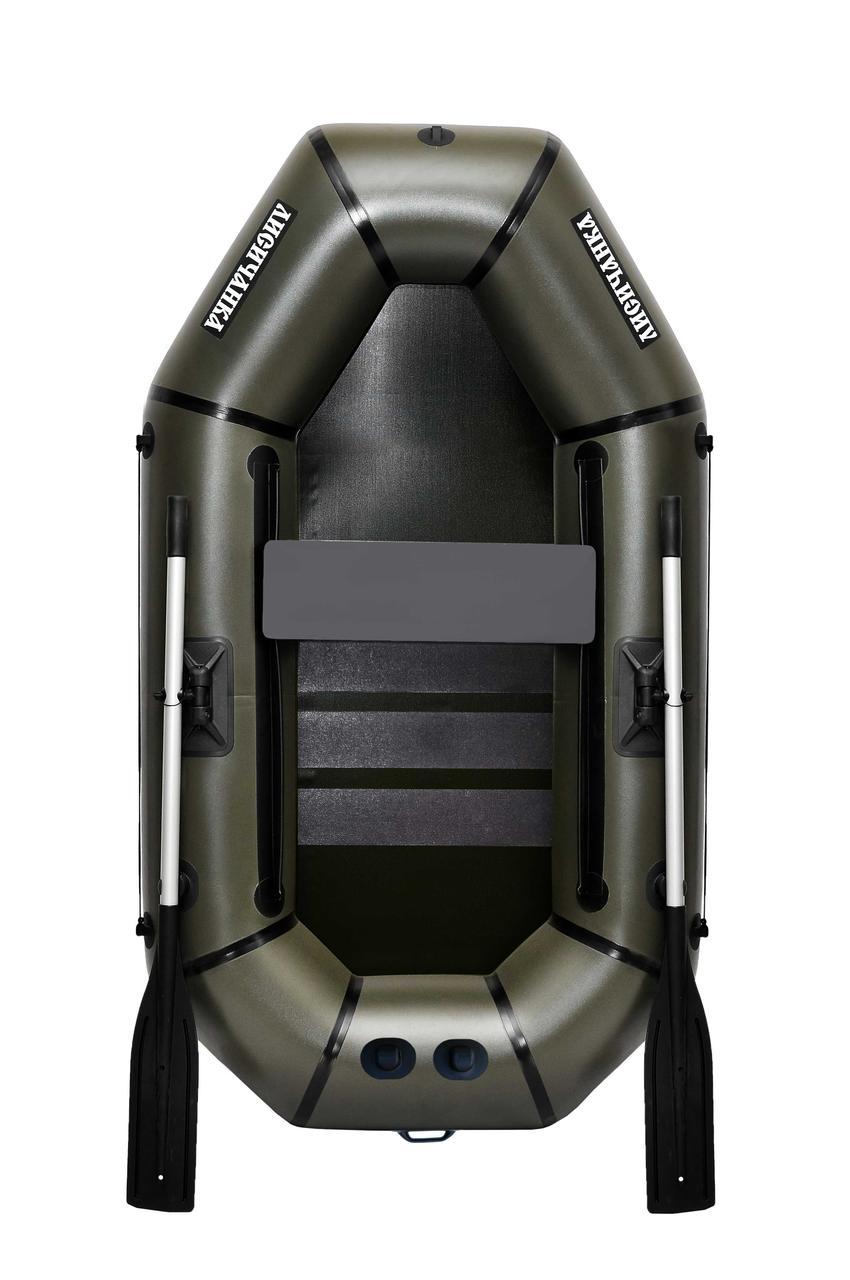 Надувная гребная полутораместная лодка из пвх F210CPU