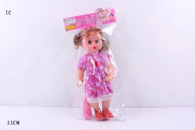 Кукла музыкальная 38359, 33см. pro