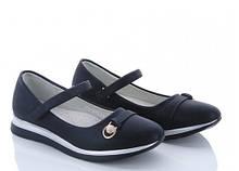 Туфли подросток синие,туфли школьные на девочку BBT-H2516-1
