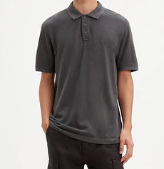 Мужская тенниска поло Levi's® Chest Logo Polo Shirt- FORGED IRON GREY