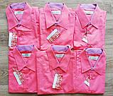 Детская рубашка с коротким рукавом Кораловая от 6 до 11, фото 2