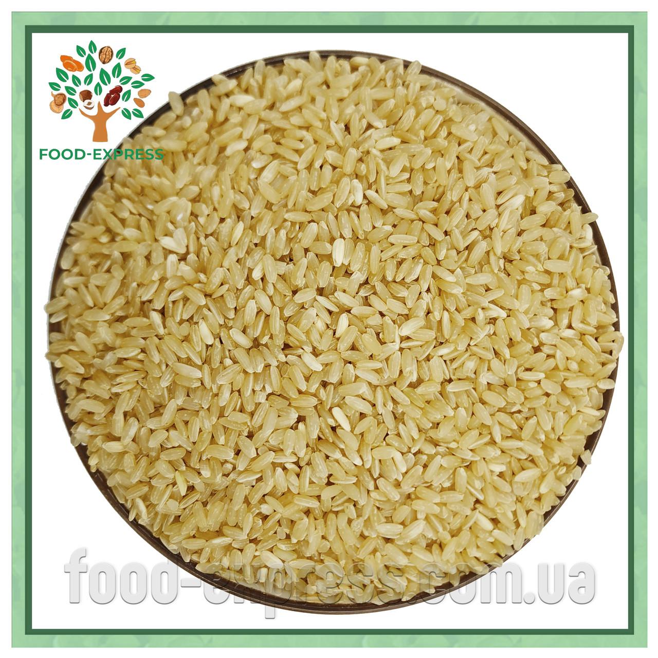 Рис бурый нешлифованный 200г