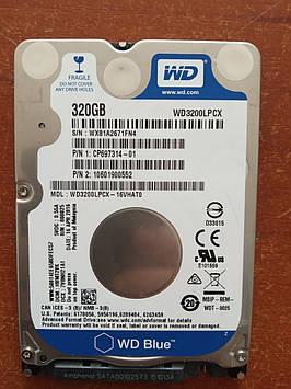 Жесткий диск винчестер Western Digital 320 ГБ 2.5 для ноутбука