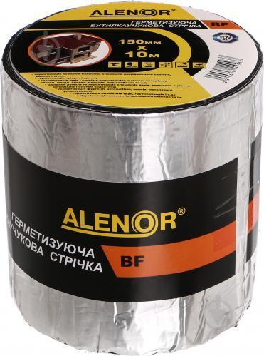 Лента герметизирующая Alenor BF 150 мм х 10 м бутилкаучуковая фольгированная