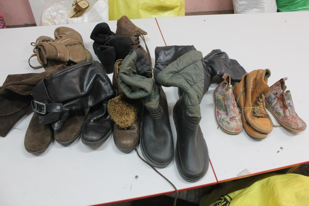 Секонд хенд, Обувь  Микс жен 2с зима
