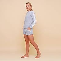 Костюм домашний женский MODENA  DK052-2 (кофта и шорты), фото 1
