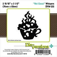 Нож для вырубки Die-Versions Hot Cocoa 2.937 7.4х8.5 см (DVW293)