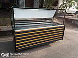 Витрина-куб 1,8 м. б/у., холодильная витрина квадратная б.у., фото 2