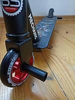 Самокат трюковый с Пегами Best Trike, алюминиевый диск и дека, До 100 кг, Красный
