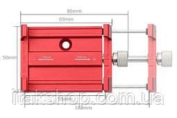 Металлическое крепление для телефона велокрепление Aubtec, фото 3