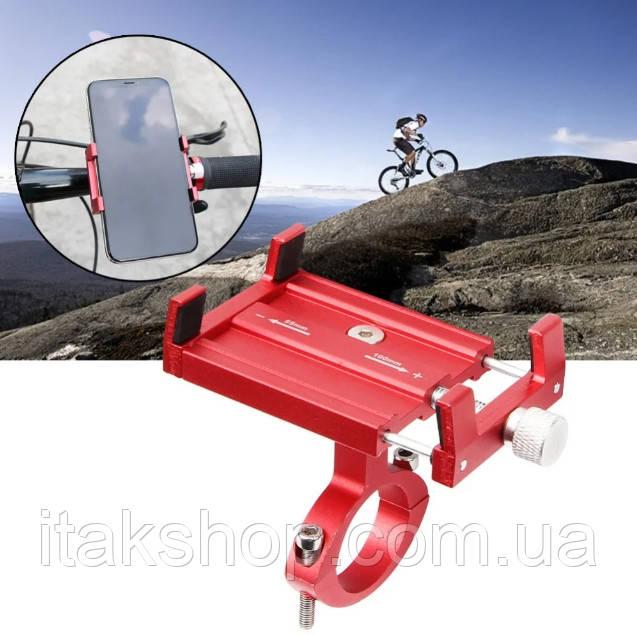 Металлическое крепление для телефона велокрепление Aubtec
