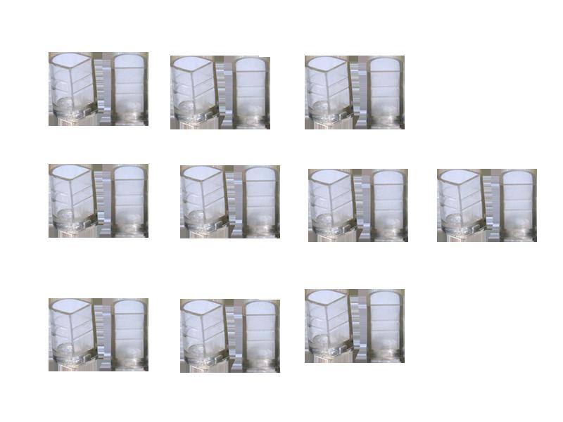 Накаблучники для бальних танців SLIM(10пар в упаковці)