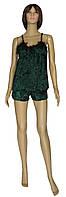 NEW! Женские велюровые пижамы - майка и шорты - серия Miranda ТМ УКРТРИКОТАЖ в новом цвете!