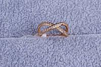 Кольцо женское, колечко ювелирная бижутерия, Xuping