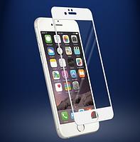 Защитное стекло на дисплей для   IPHONE 6/6S Plus White