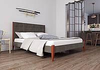 Ліжко Токіо з м'яким узголів'ям ЧДК, фото 1