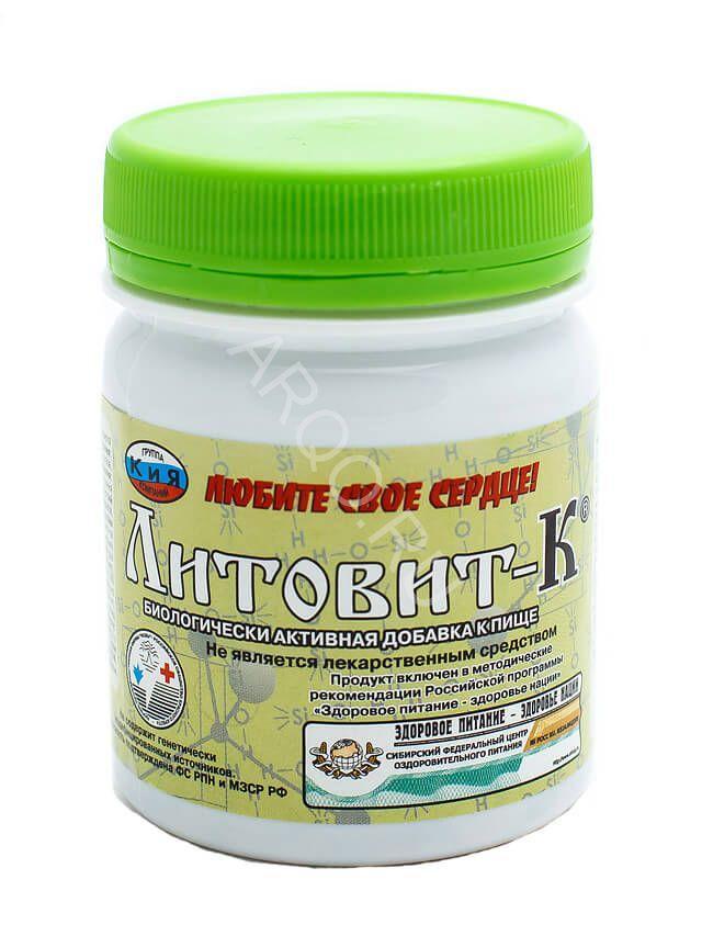 Литовит К 280 таблеток (ишемия, инфаркт, инсульт, атеросклероз, давление, цеолит, ламинария, йод, похудение)