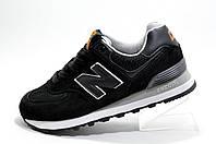 Классические кроссовки в стиле New Balance 574, Black