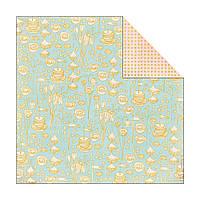 Лист скрап бумаги Basic Grey Paper Cottage Двусторонний 30х30 см Brunch (843940037770)