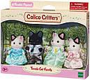 Sylvanian Families (Calico Critters) семья Котов в смокинге Tuxedo Cat Family, фото 5