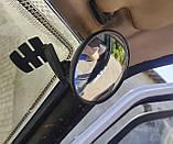 Салонное зеркало слепых зон, универсальное, на присоске, фото 2
