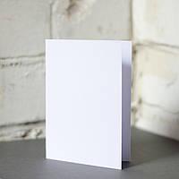 Заготовка (основа) для открытки - белая, размер 10 х 15 см