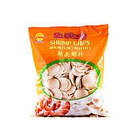 Креветочные чипсы 35 мм (креветка 10%) Sa Giang 1 кг