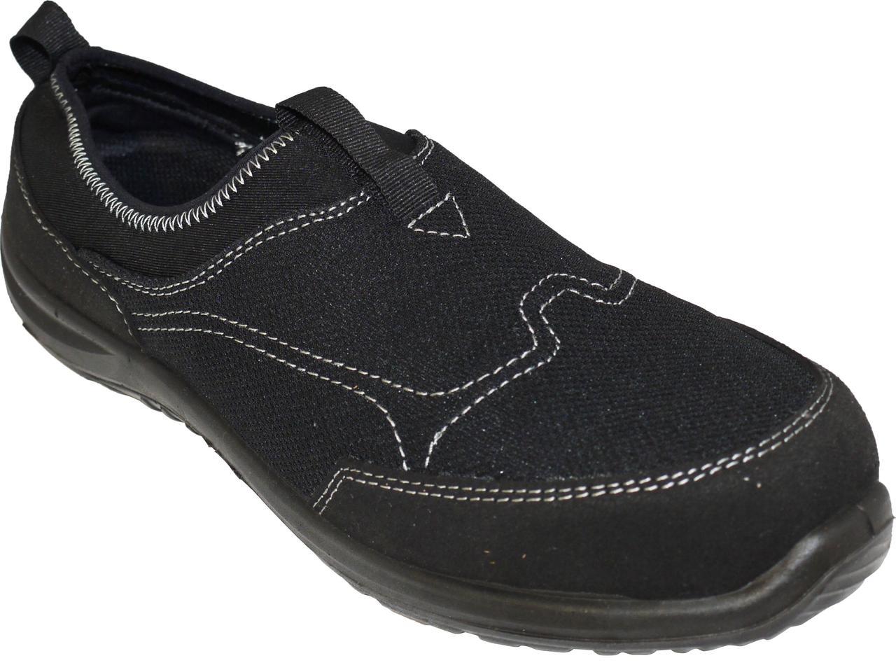 Кроссовки без шнуровки Portwest Steelite Tegid FT54 S1P Черный, 35