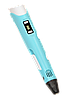 3Д ручка c LCD дисплеем 3D Pen-2 - ручка 3D принтер для рисования Синяя, фото 5