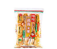 Крекер рисовий з МОРСЬКИМИ ВОДОРОСТЯМИ Bin-bin 150 г (20 шт)