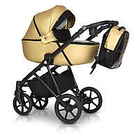 Детская коляска универсальная 3 в 1 Verdi Makan black 03 new gold (Верди, Польша)