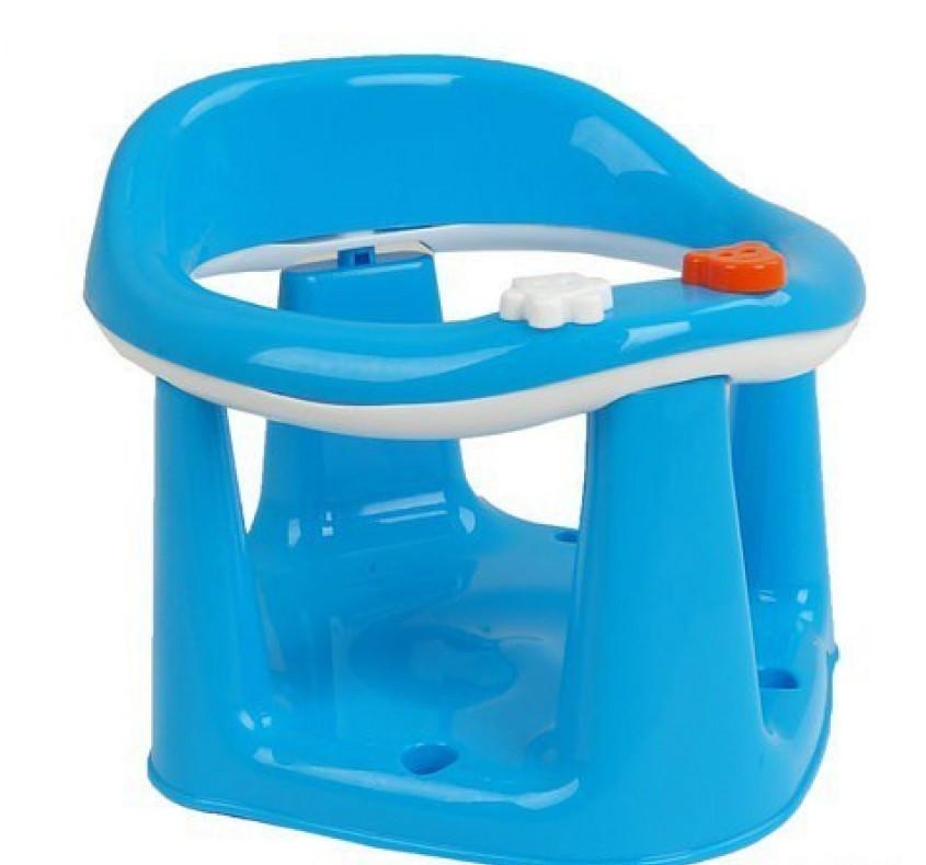 Детское сидения для купания на присоске ГОЛУБОВА цвета ( BM-50305 )
