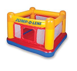 Надувной батут Intex  «Jump-O-Lene» , 174 х 174 х 112 см (48260)