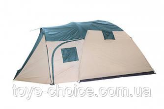 Палатка пятиместная Bestway Hogan 68015 двухслойная, полиэстер с антимоскитной сеткой и окном PS