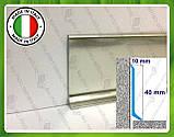 Алюминиевый плинтус Profilpas Metal Line 90/4, высота 40 мм, фото 2