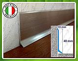Алюминиевый плинтус Profilpas Metal Line 90/4, высота 40 мм, фото 4